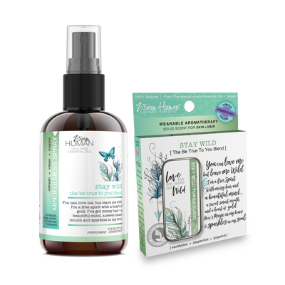 Stay Wild - Be True To You Blend - Solid and Mindfulness Spray SET - SAVE $