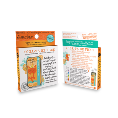 Yoga-Ta Be Free - Power Blend - Wearable Aromatherapy