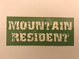 Sticker Mountain Resident