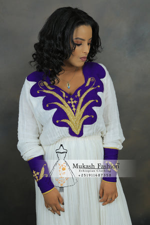 Nigus Solomon Ethiopian dress 2019