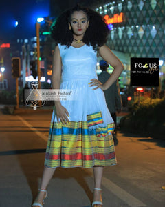 traditional habesha tibeb dress