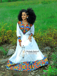2019 new Ethiopian traditional dress