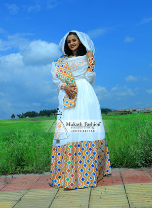 habesha new diamond dress collection