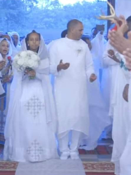 Habesha wedding clothing