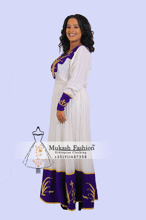 New Pink/Purple Wedding Mukash Dress 2019