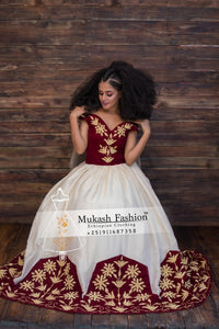 new burgundy mukash fashion 2020 wedding collection