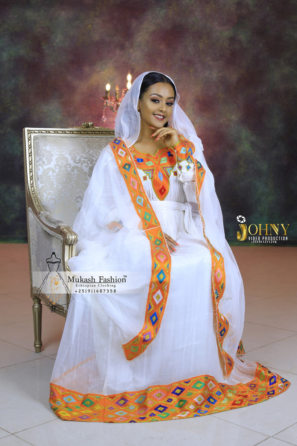 Diamond tilf habesha dress 2020