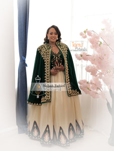 new green  mukash 2020 wedding collection