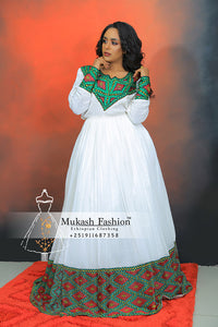 Ethiopian new 2019 wedding clothing