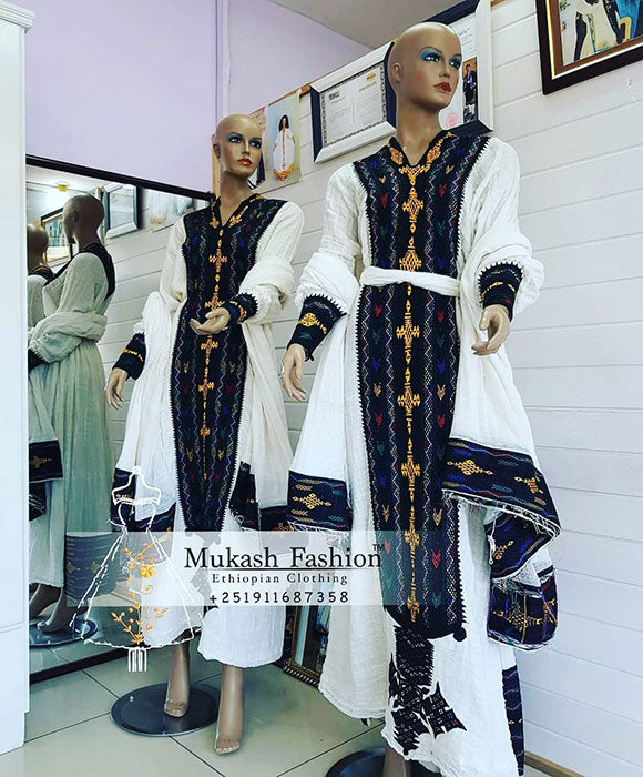 Aksum tibeb dress