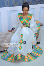 Ethiopian wedding traditional dress