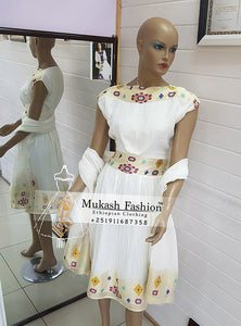 Habesha bridesmaid dress