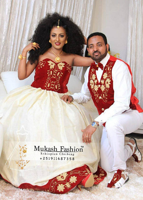 Light Burgundy mukash wedding package