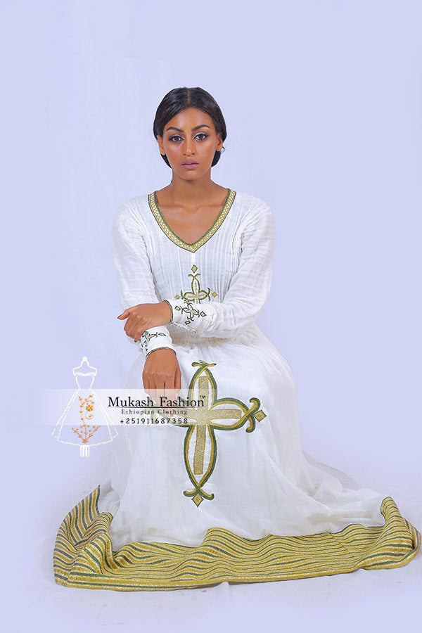 Meskel Ethiopian dress