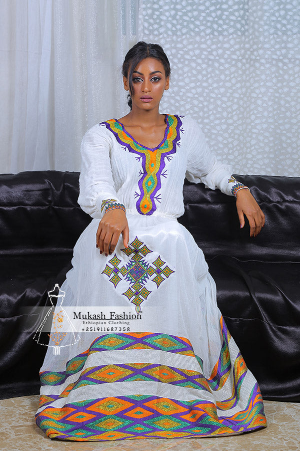 modern habesha dress
