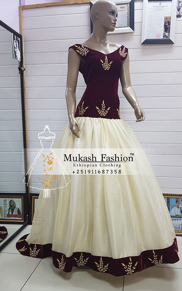 Mukash Wedding dress