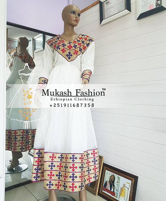 Meskel habesha dress
