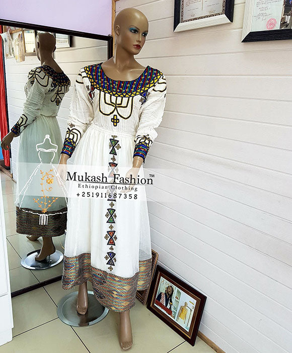 Liyu habesha dress