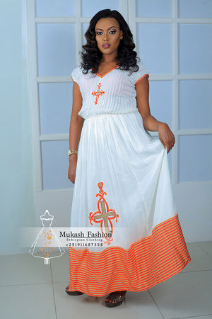 meskel Ethiopian holiday dress