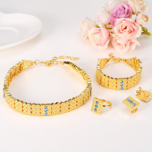 Gold Color Ethiopian Jewelry sets