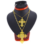 Big/Small Gold Cross Necklaces for Women/Men