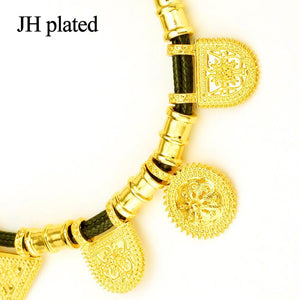 New Ethiopian Jewelry Gold Color Rope Sets for African /Ethiopia /Eritrean Women