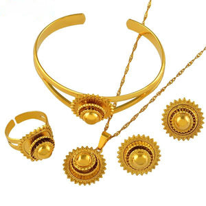 Ethiopian Jewelry set Bride Wedding Set
