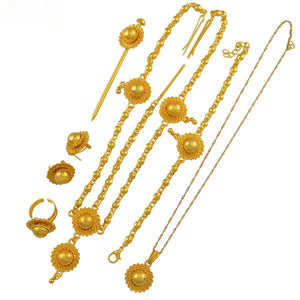 Ethiopian Bridal Wedding Gifts Jewelry sets