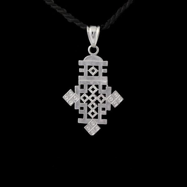Silver Cross Pendant for men and women