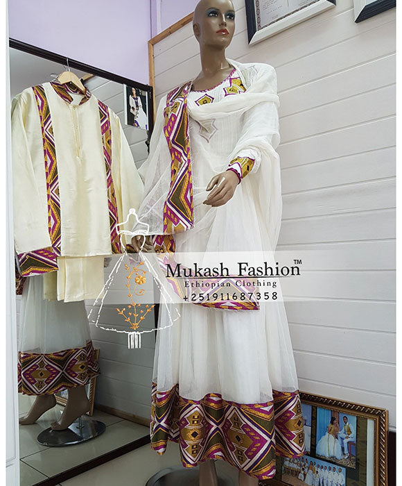 Ethiopian zuria dress