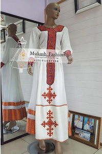 Senselet Habesha Dress