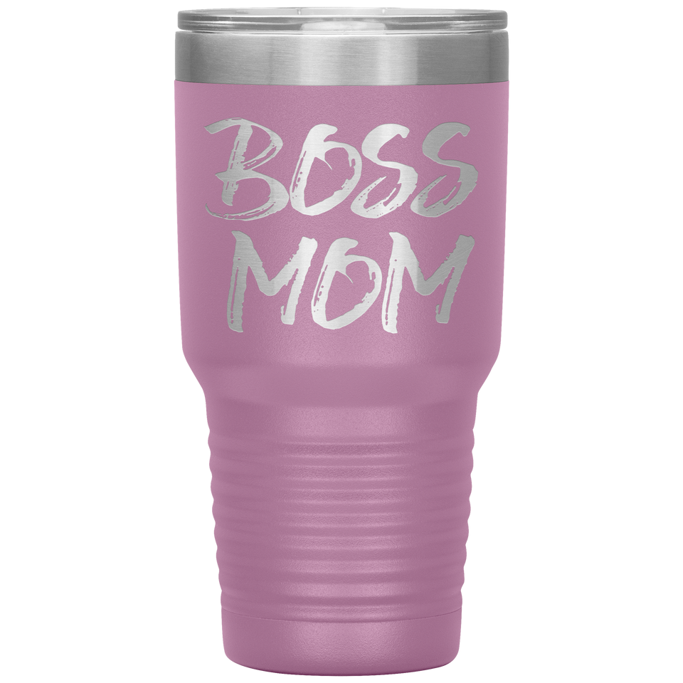 Boss Mom Travel Mug