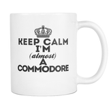 Keep Calm Commodore Coffee Mug