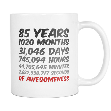 85 Years of Awesomeness Coffee Mug