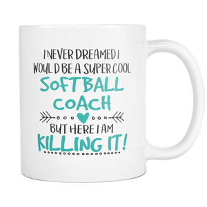 Softball Coach Coffee Mug