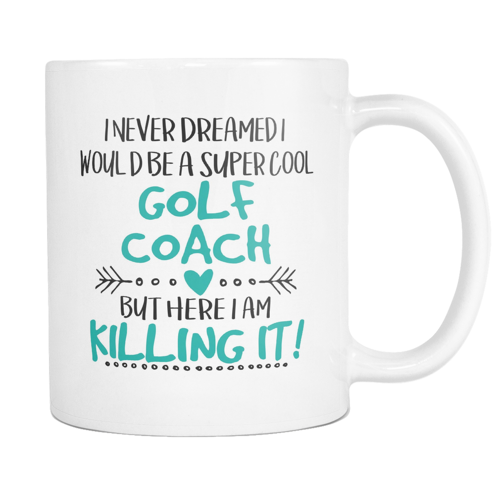 Golf Coach Coffee Mug