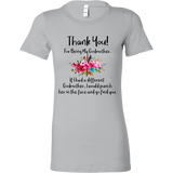 Thank You For Being My Godmother tshirts