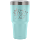 Who Runs The World Girls Travel Mug
