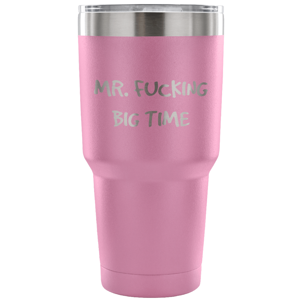 Mr Fucking Big Time Travel Mug