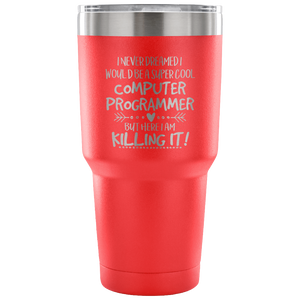 Computer Programmer Travel Coffee Mug