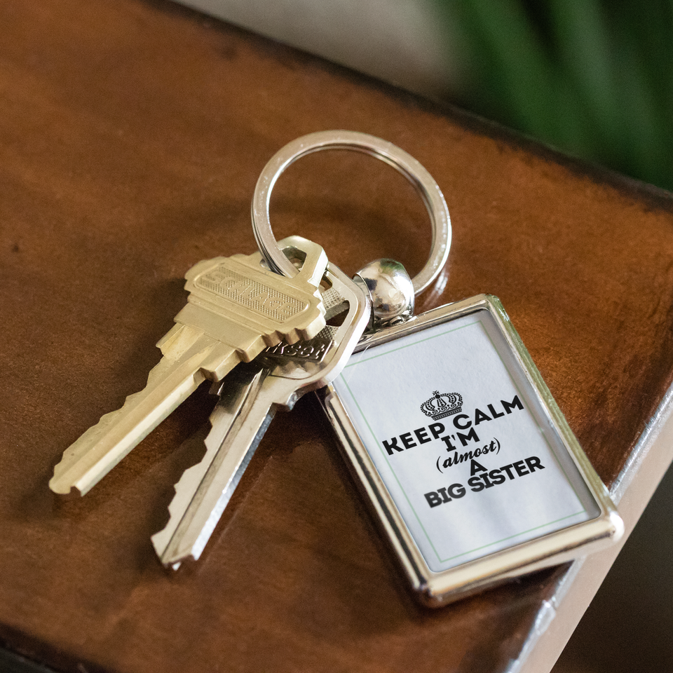 Keyring keep calm big sister
