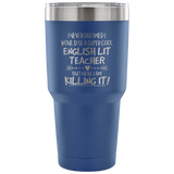 Super Cool English Lit Teacher Tumbler