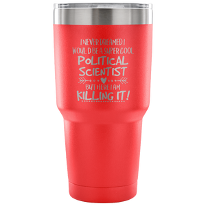 Political Scientist Travel Coffee Mug