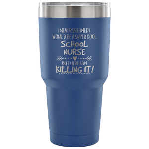 School Nurse Travel Tumbler