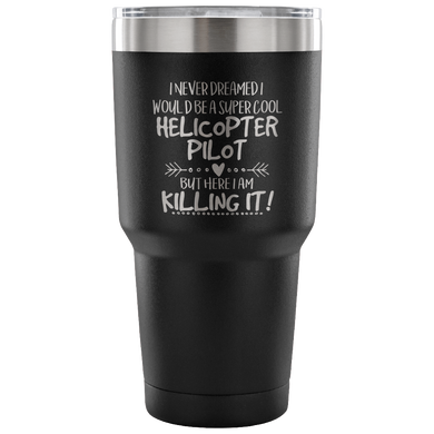 Helicopter Pilot Travel Coffee Mug