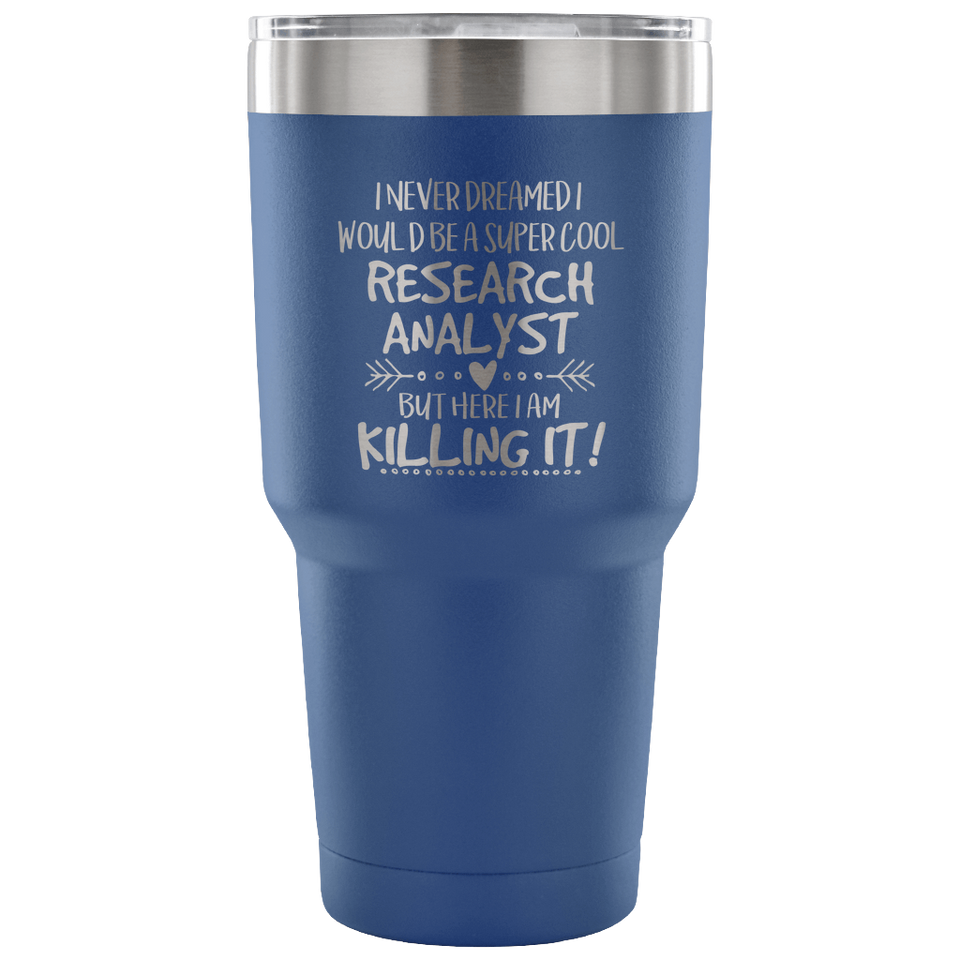 Research Analyst Travel Coffee Mug