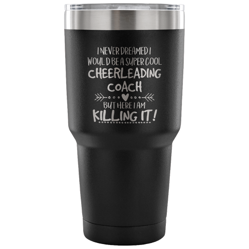Cheerleading Travel Coffee Mug