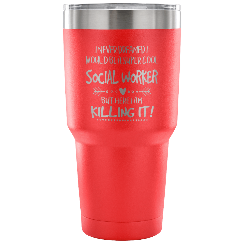 Social Worker Travel Coffee Mug