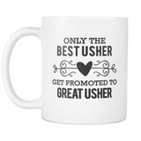Best to Great Usher Coffee Mug
