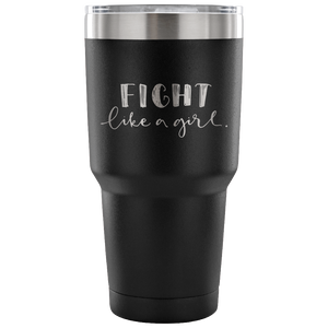 Fight Like A Girl Travel Mug